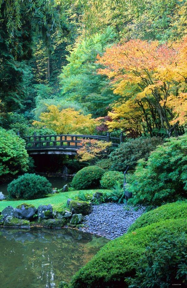 Fabulous Portland Japanese Garden.