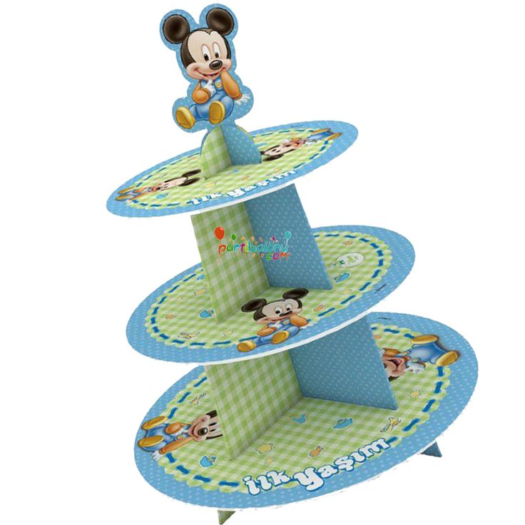 Baby Mickey Mouse Kek Standı