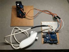 Control Servos using Wii Nunchuk