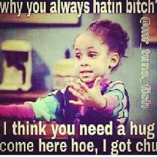 You ol' hating ass bitch you! olivia meme #haters #bitch