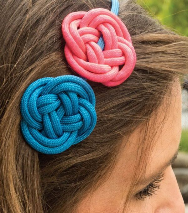 DIY Paracord Rosette Headband