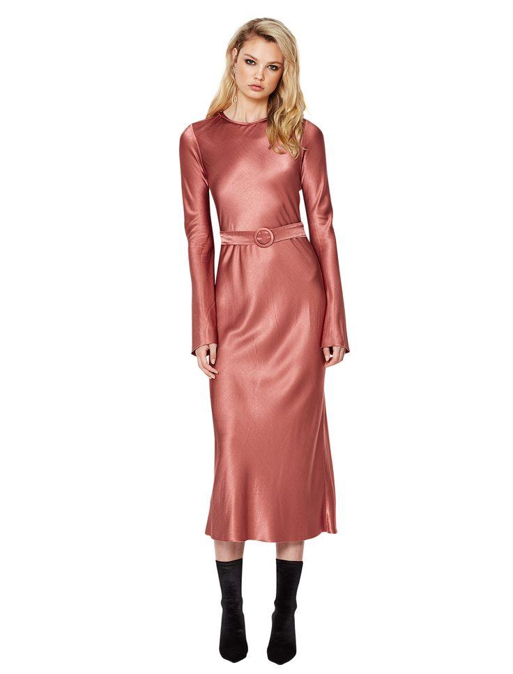 bec and bridge - Liquid Envy Bias Dress - Rosewater