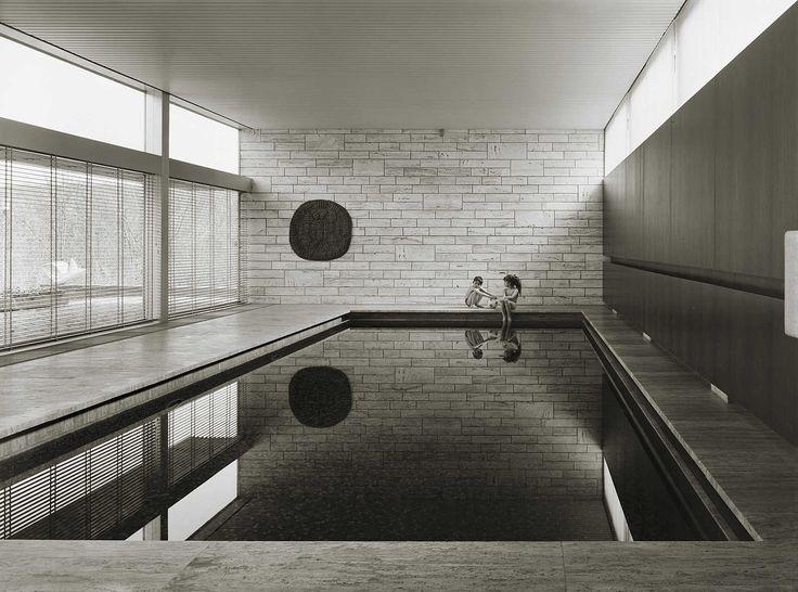 Privathaus, Wolfsburg - Heinrich Heidersberger - pictures, photography, photo art online at LUMAS