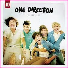 one directions album cover up all night.