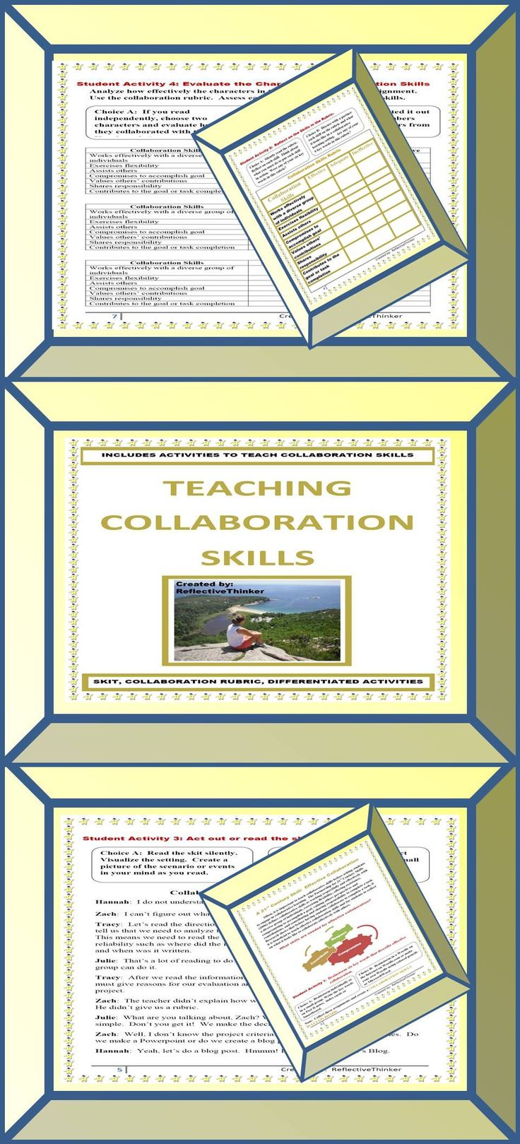 Collaborative Classroom Games ~ Teaching collaboration a st century skill cooperative