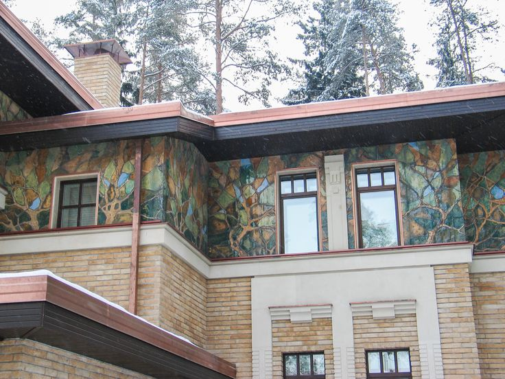 """Архитектурный декор """"Листья"""""""