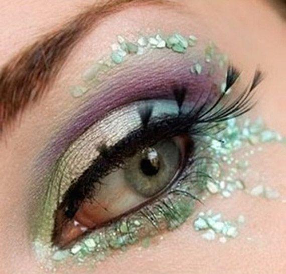 mint.quenalbertini: Make up ciglia finte