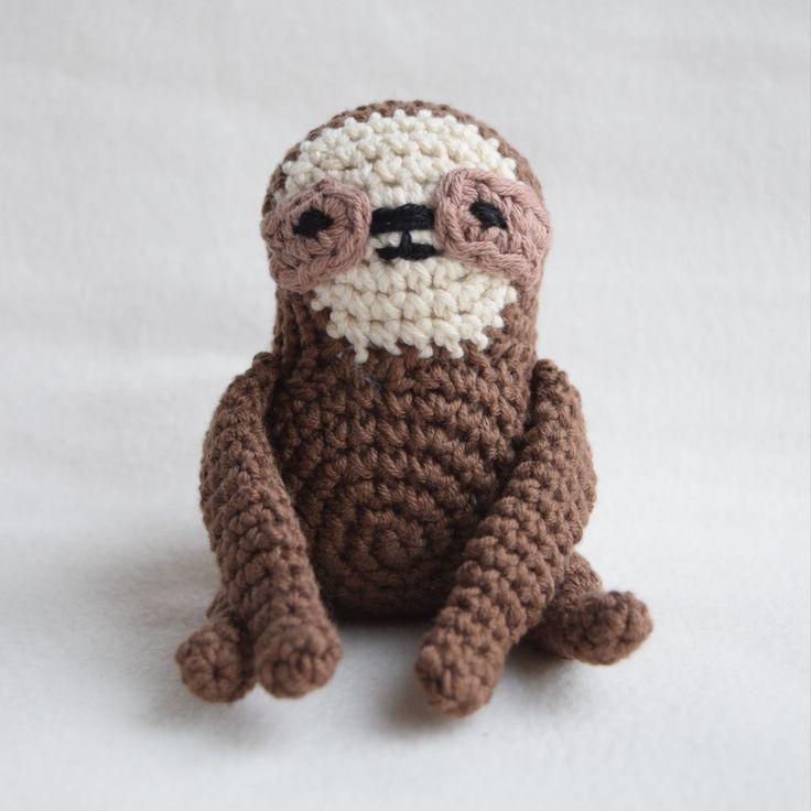 16 best DIY: Faultier häkeln images on Pinterest | Sloth, Crochet ...