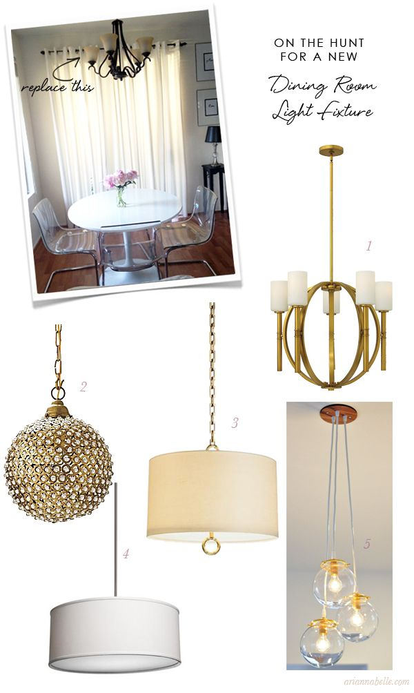 Dining Room Pendant Light Options From Vargas Arias