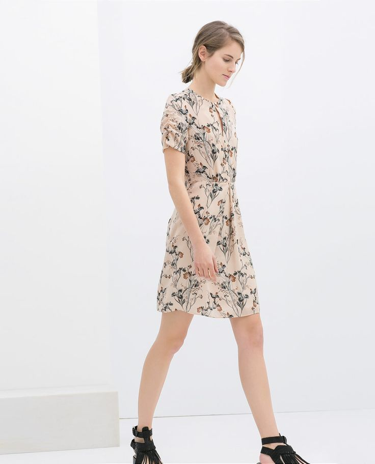 PRINTED DRESS from Zara