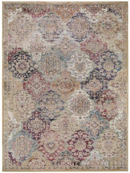 Teppich Vintage Cedar Multicolor