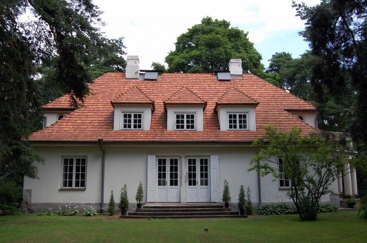Józef Piłsudzki's house in Sulejówek.