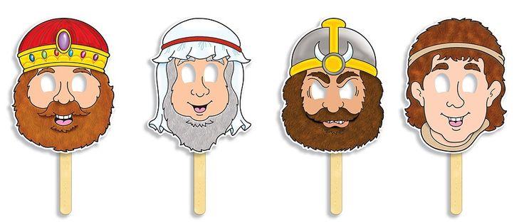 David and Goliath Masks Bible David Pinterest