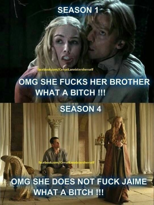Game of theones Cersie and Jamie
