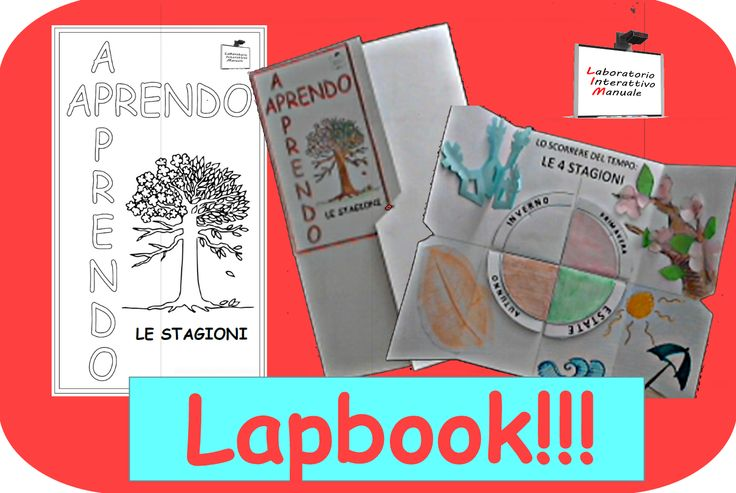 "APRENDO – APPRENDO: Lapbook ""LE STAGIONI"" 