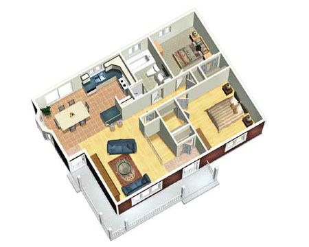 221 best images about floor plans designs on pinterest - Small Cottage Plans 2