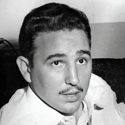 Famous People When They Were Young | Fidel Castro