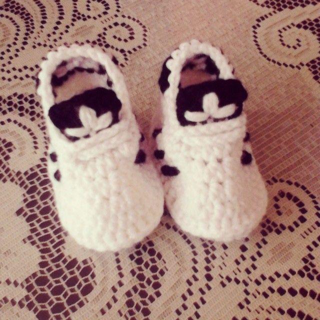 Zapatillas Adidas Crochet Patron,Resultado De Imagen De Zapatillas ...