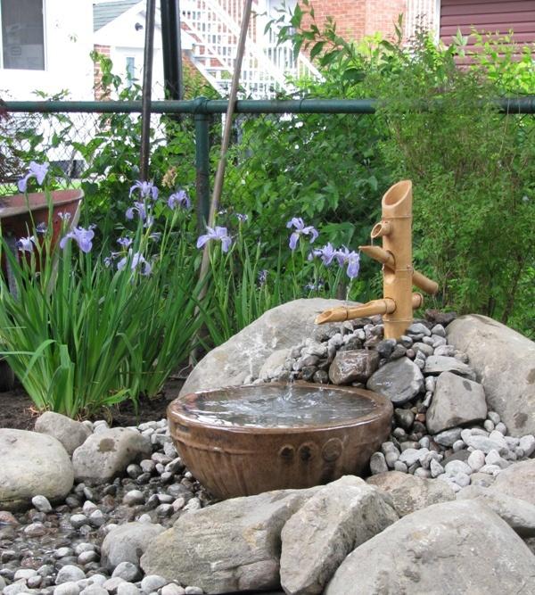 Les 24 meilleures images propos de terrasse zen sur for Fontaine asiatique jardin