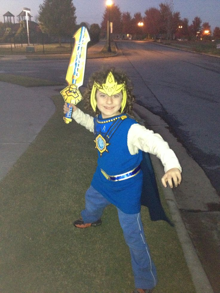 Legends of chima laval halloween costume semi homemade for Homemade halloween costumes for little boys