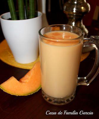 Casa de Familia Garcia: Melon Water - Agua de Melon