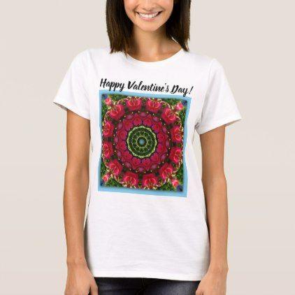 Heart of Heaven 01 Happy Valentine's Day! T-Shirt - holidays diy custom design cyo holiday family