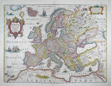 Europa Exactissime Descripta | Sanders of Oxford