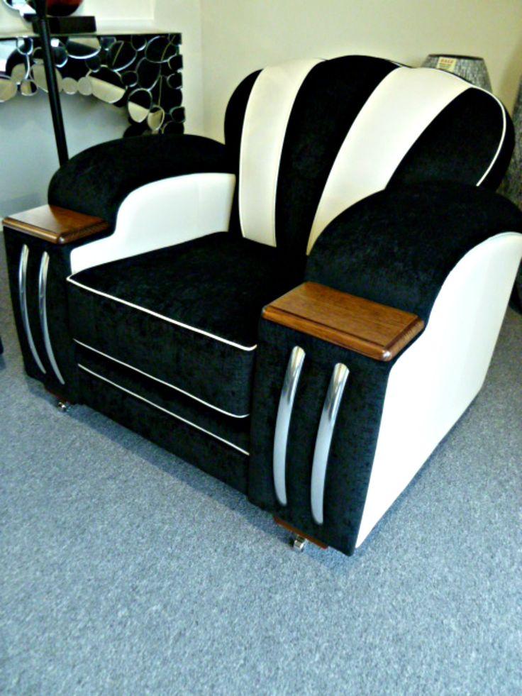 Vintage Art Deco Sofa