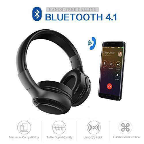 Wireless Portable Bluetooth Stereo Sound On Ear Headsets LED Display Screen New #WirelessPortableBluetooth