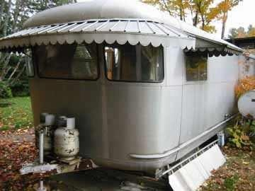 1000 Images About Vintage Trailer Awnings On Pinterest
