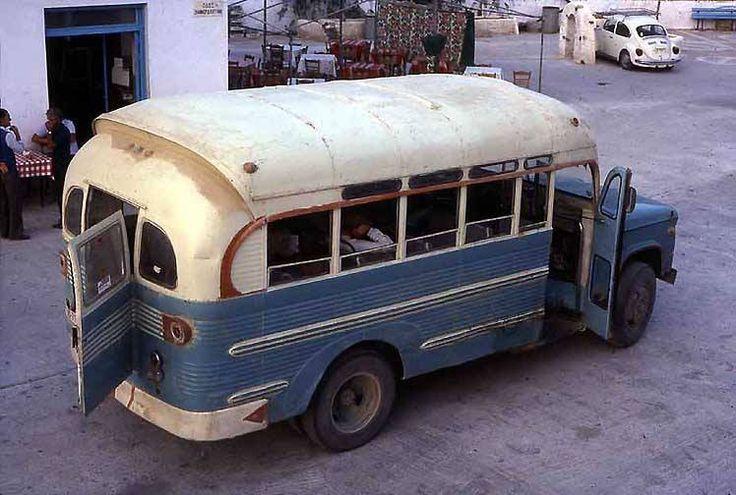 Greek Island Bus