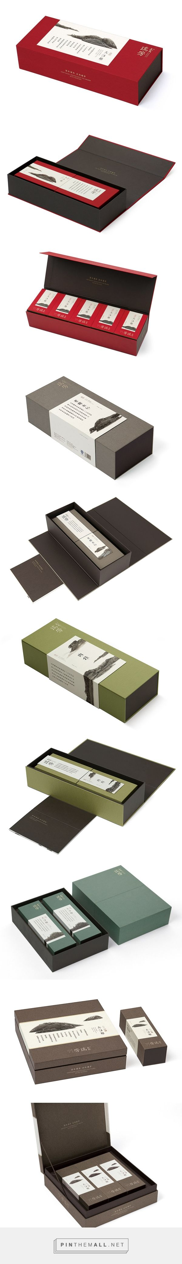 WUYI RUIFANG TEA #packaging PD -明體字搭配