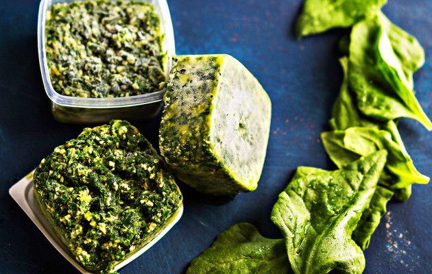 Pinaattipesto / Spinach pesto / Kotiliesi.fi / Kuva/Photo: Sampo Korhonen/Otavamedia