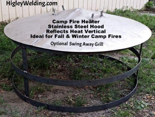 Best 25+ Fire pit heat deflector ideas on Pinterest   Game ...