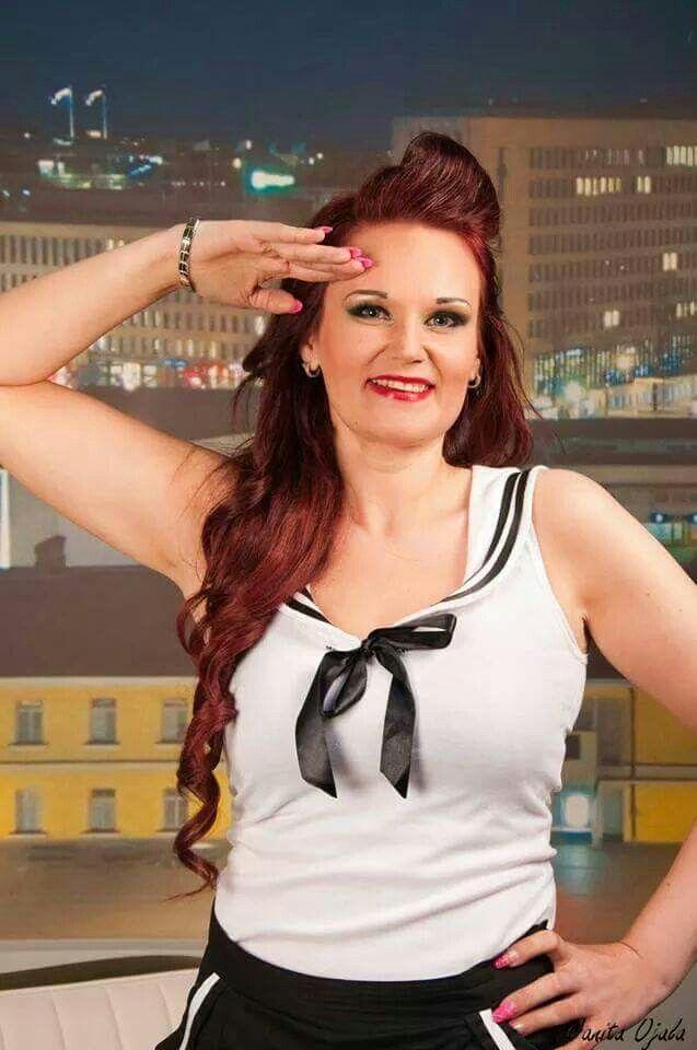Photographer: Petri Mast MUAH: by me Clothes : Muotiputiikki Helmi www.pin-up.fi