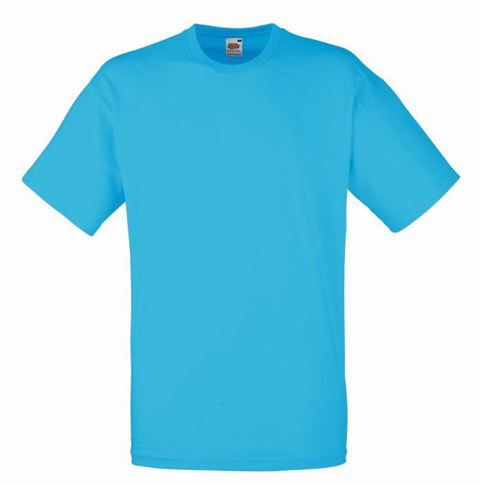 Koszulka Valueweight. Odziez męska. Producent: Fruit of the Loom. Numer katalogowy: 610360. Materiał: 100% bawełna. Gramatura: 160g/165g.