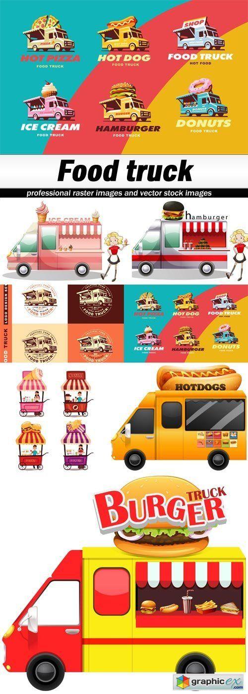 Food truck - 7 EPS