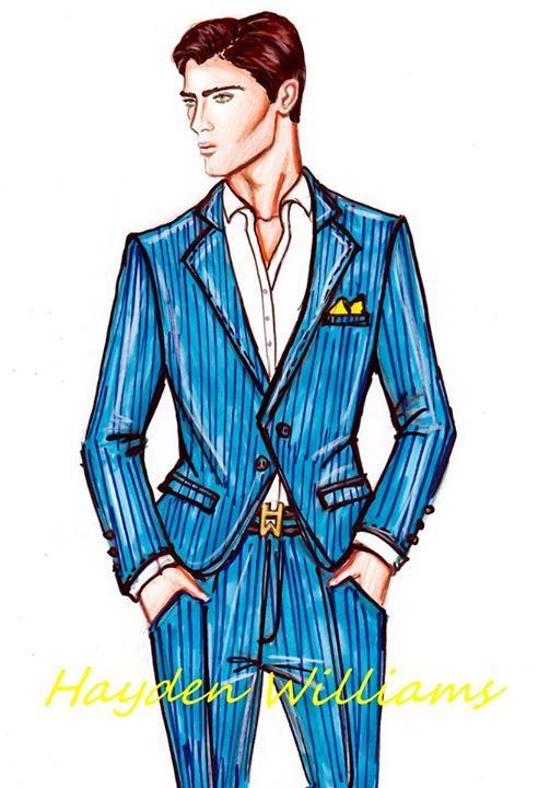 Hayden Williams for men's fashion | Fashion: Illustrations ...
