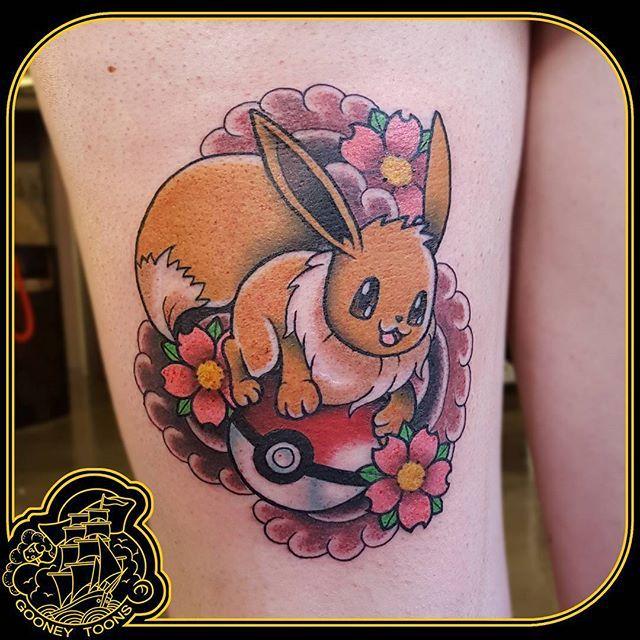 eevee tattoo - photo #12