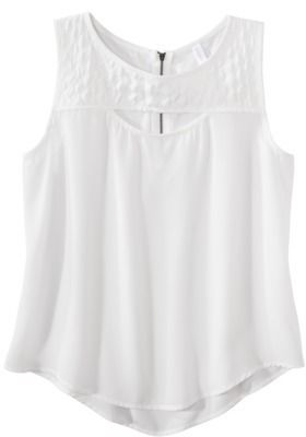 Xhilaration Junior's Sleeveless Quilted Top - Assorted Colors on shopstyle.com