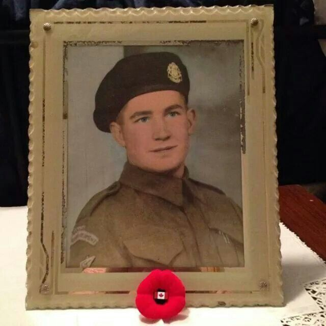 Albert Johnson. Member of the Calgary Tanks during WWII. My Great-uncle.