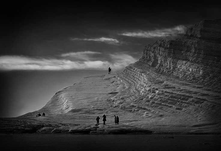 SELECTION OF THE DAY by #Expo #FineArt #Photography Paradiso bianco, Scala dei turchi a Realmonte (Ag) - 2013, Photo © Uccio Conte #Landscape