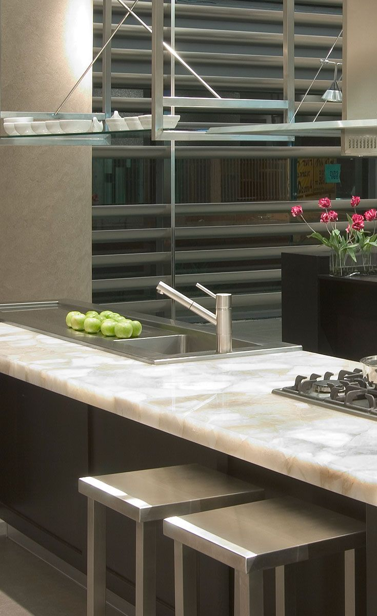 A Beautiful Caesarstone Quartz Countertop From The Concetto Collection