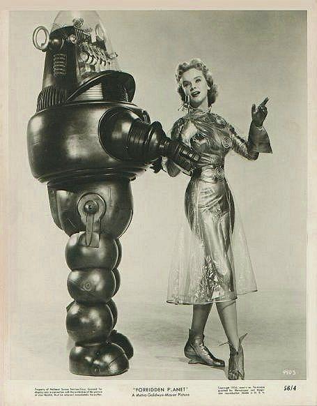 Femme et robot