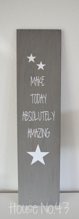 House No. 43: Make today absolutely amazing