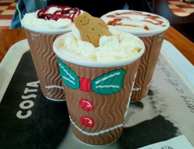 Christmas Collection at Costa Coffee