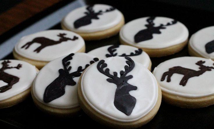 Deer Cookies for the Hunter