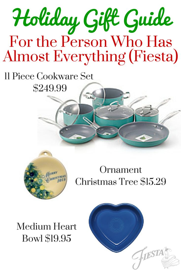 Fiesta Holiday Gift Guide For The Person Who Has Almost