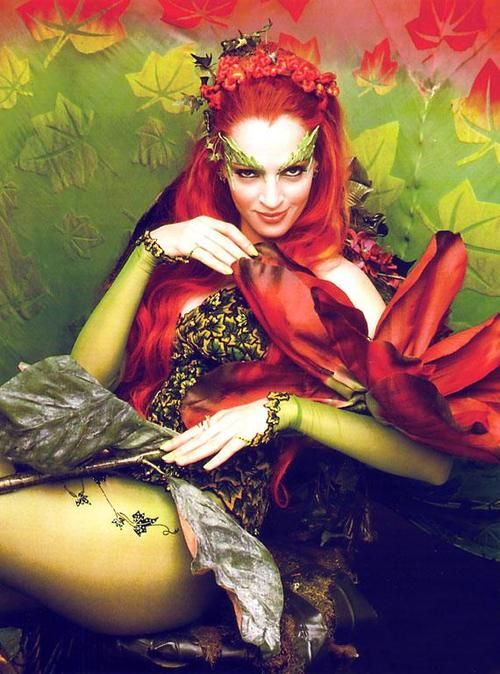 The natural beauty, Poison Ivy. Uma saved this movie.