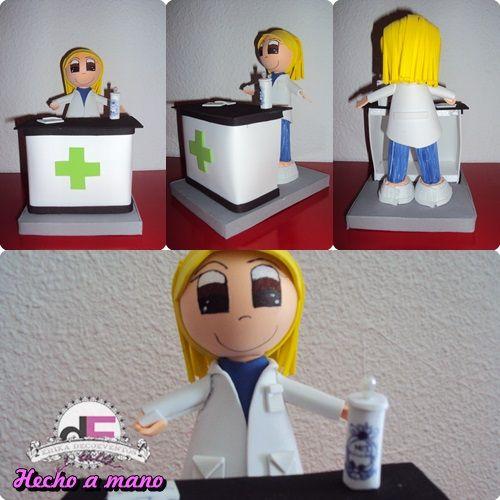 Fofucha farmaceutica. ©Érika DecoEventos